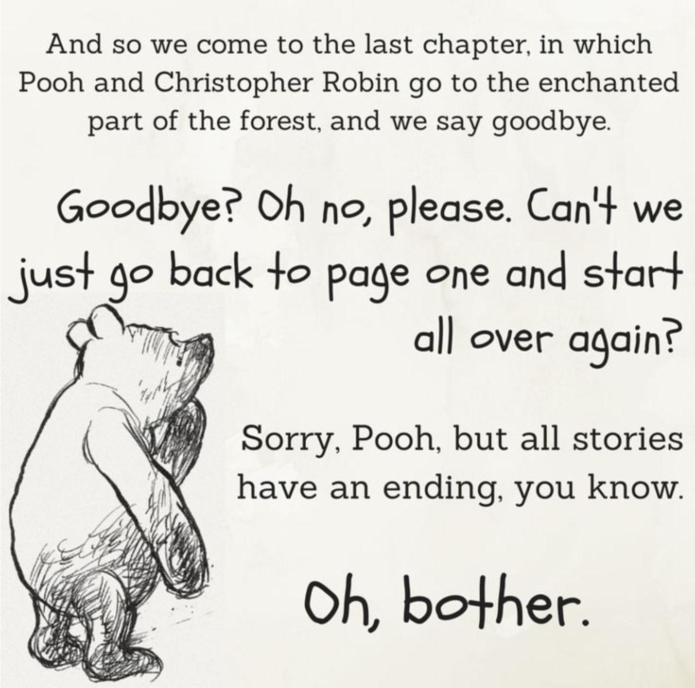 Pooh Bear - Good-Bye